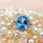 宝石 3月誕生石 アクアマリンの意味と断捨離や買取の試算方法