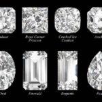 宝石のカットは種類によりダイアモンドの輝きも違って見えます!